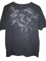 HARLEY DAVIDSON MOTORCYCLE San Antonio Texas Skull T Shirt Mens L Large - $11.87