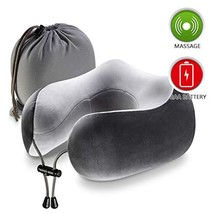 Chic Now Airplane Pillow, Memory Foam Travel Pillow for Neck and Chin Su... - $21.62