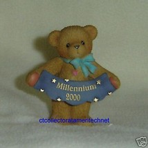 Cherished Teddies Avon Exclusive Milliennium Bear NIB - $15.79