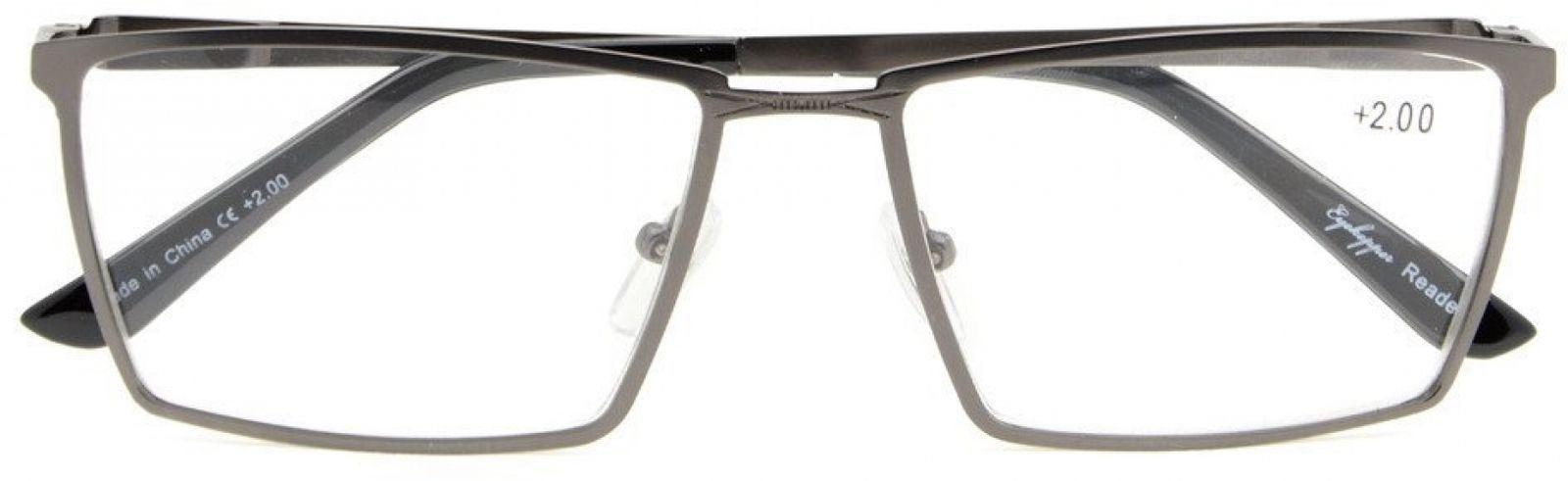 Eyekepper 4-Pack Mens Reading Glasses Spring Hinges Included Tinted Lens +0.75 image 3