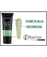 Flormar CC Cream Neutralize / Conceals Redness SPF 15 Anti-Redness 35 ml - $11.86