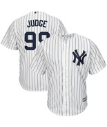 Men's New York Yankees Aaron Judge  Home White/Navy Cool Base Player Jersey - $33.99