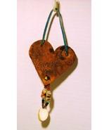 "Cher Shaffer NC Folk Artist 1995 Handmade ""Love The The Earth"" Ornament #2 - $27.98"