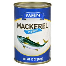 Pampa Mackerel  15 Ounce Can Pack of 1