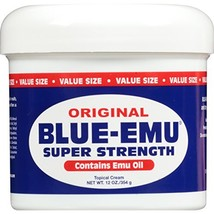 Blue Emu Original Analgesic Cream, 12 Ounce Packaging May Vary - $30.50