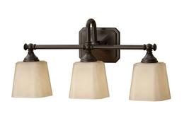 Generation Lighting MVS19703ORB Concord 3 Bulb Bathroom Light Oil Rubbed Bronze - $128.65