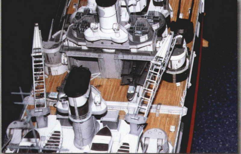 115cm Paper Model DIY 1:200 Battleship HMS and 50 similar items