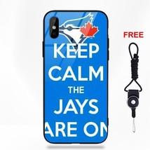 Toronto Blue Jays Logo Phone Case For Apple iPhone 5 5C 5S SE 6 6S 7 8 P... - $14.40