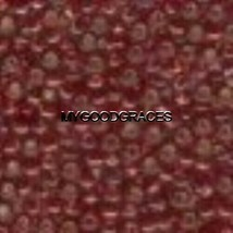 450 Mill Hill Glass Beads (11/0) 2.5mm Seed Round #02099 Ruby 4.0 grams - $1.61