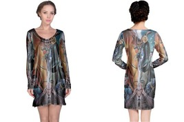 Avenger Iluminati Women's Long Sleeve Night Dress - $23.80+