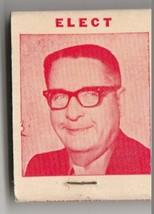 Vtg Strike on Matchbook  Elect Jim Pinkerton for City Council - $9.89
