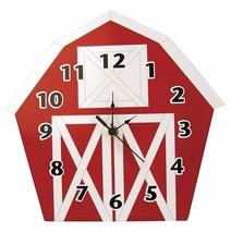 Trend Lab Baby Barnyard Wall Clock, Barn - $18.59