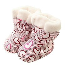 Infant Shoes Winter Keep Warm Crib Shoes Baby Shoes Cotton Toddler Shoes