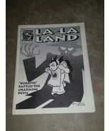 Rare 1994 Carlos Saldana Charming Devil Comix LA-LA LAND Black and White - $99.00