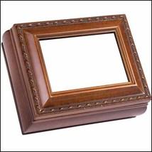 Woodgrain Rectangular Little Treasures Box cross stitch box  - $22.00