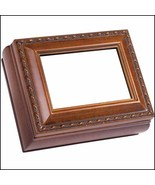 Woodgrain Rectangular Little Treasures Box cross stitch box  - $22.00
