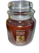 YANKEE CANDLE AUTUMN WREATH 14.5 OZ OZ JAR CANDLE  - BRAND NEW - $20.00