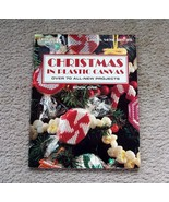 Christmas In Plastic Canvas - Leisure Arts - Book 1 - 1993 - $11.99