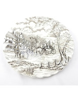 Royal Mail Fine Staffordshire Ironstone Made in England 10 Inch Dinner P... - $10.50