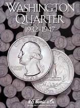 Washington Quarters Coin Folder Album #1 1932-1947 by H.E. Harris - $5.83