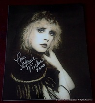 Stevie Nicks Autographed Glossy 8x10 Photo - $495.00