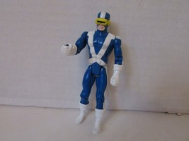 "TOY BIZ 1991 MARVEL X MEN  CYCLOPS X FORCE ACTION FIGURE  5"" AS IS  L143 - $4.85"