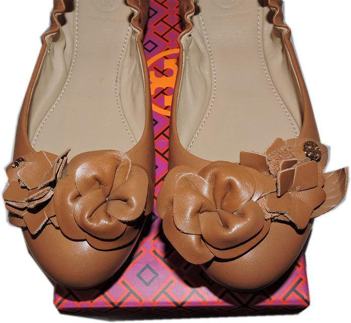 7163d94dfd99 Tory Burch BLOSSOM Ballerina Flat Brown and similar items. 6398