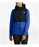 The North Face Black Blue Women Arrowood Triclimate Hood Jacket Coat Dry... - $139.99