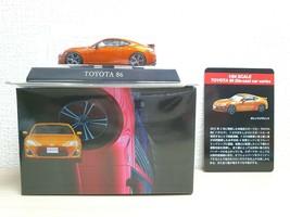 1/64 Kyosho TOYOTA 86 GT86 ORANGE Scion Frs diecast car model Limited Ed... - $36.25