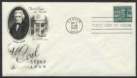 #1059 4 1/2c The Hermitage, Art Craft-Addressed FDC **ANY 4=FREE SHIPPING** - $1.25