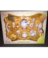 Disney Store Beauty and the Beast ''Be Our Guest'' Singing Tea Cart Play... - $98.99