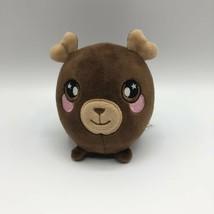 "Boris the Moose Squishamals Plush 3.5"" Cute Super Soft and Squishable - $9.89"