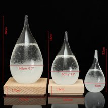Tempo Drop Weather Storm Glass Forecast Tp Perrocaliente Designer New Ho... - $79.94
