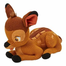 Disney Parks Bambi Classic Cozy Knit 11 inc Limited Release Plush New wi... - $42.56