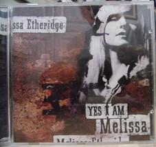 Melissa Etheridge-Yes I Am-CD-1993-Like New - $7.50