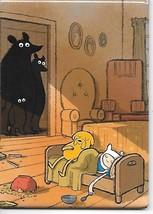 Adventure Time Animated TV Three Bears Staring Refrigerator Magnet NEW U... - $3.99