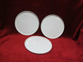 """Crate & Barrel Mercer set of 3  salad plates 8 5/8""""  - $16.78"""