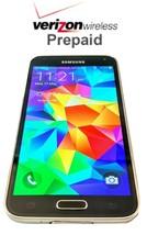 Unlocked Verizon Prepaid Samsung Galaxy  S5 16GB 4G LTE - No contract with SIM - $91.76+
