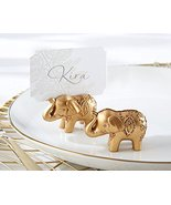 96 Lucky Golden Elephant Place Card Holders - $140.65