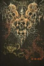 Fifth Sun Clothing T-Shirt Skulls Demons Black  Sz. XL - $16.12
