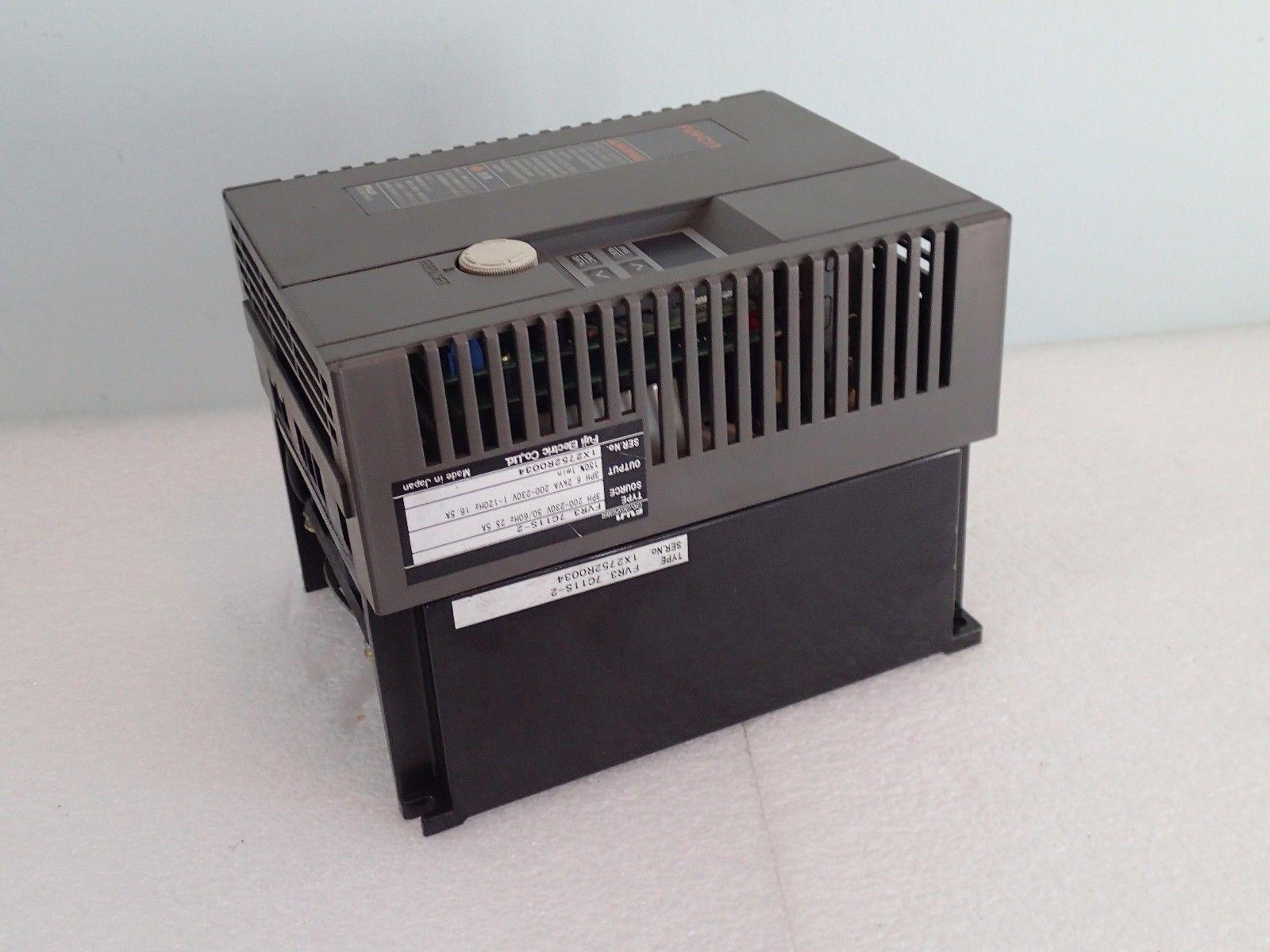 ... WARRANTY FUJI FVR-C11 INVERTER DRIVE FVR3.7C11S-2 3PH 200-230V