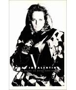 Valentino Fashion 1990 AD Valentino Boutique Madison Ave NYC - $10.99