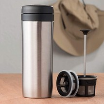 Espro Stainless Steel 12 Ounce Travel Press with Coffee and Tea Filters, - $76.02