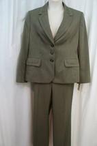 """Evan Picone Pantalon Costume Sz 18 Loden Vert """" Classique Temps """" Affaires - $78.67"""