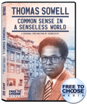 Thomas Sowell: Common Sense in a Senseless World - $14.97