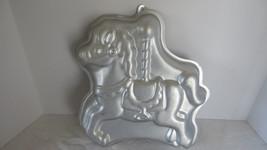 Wilton Aluminum Carousel Horse Pony Cake Pan or Mold - $6.79