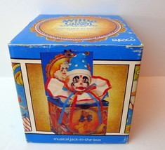 Willie the Clown EMPTY Box with Certificate of Authenticity Enesco 1985 - $14.85