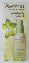 Aveeno Positively Radiant 5 Factors Of Radiance Moisturizer SPF 30 2.5oz - $12.86