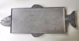 "Vintage Salmon Serving Tray Wilton Armatel 22 x 10"" - $32.00"