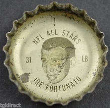 Coca Cola NFL All Stars King Size Coke Bottle Cap Chicago Bears Joe Fort... - $6.99